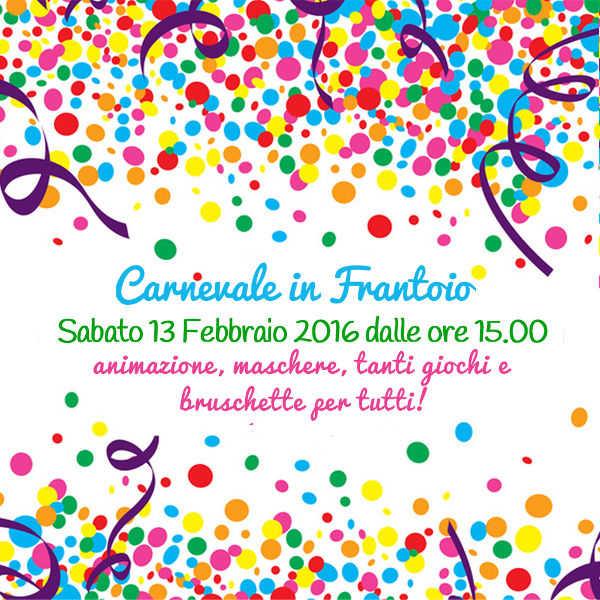 Carnevale in frantoio 2016 - molinodelladoccia