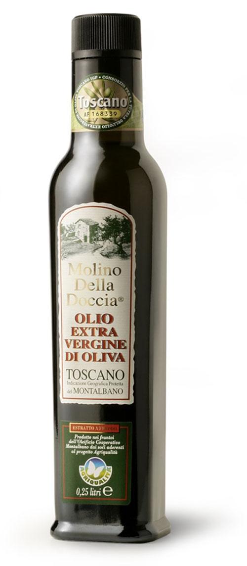 olio extra vergine di oliva Toscano IGP del Montalbano da Agricoltura Integrata 12x250ml