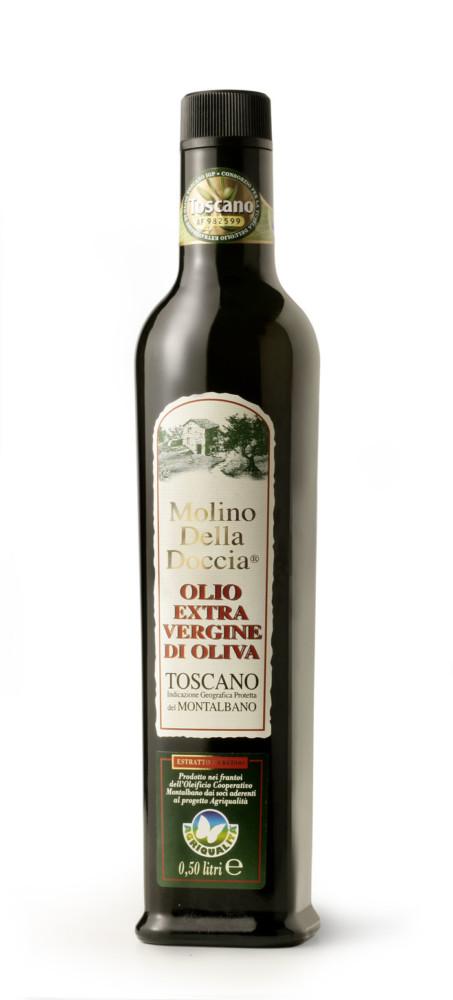 olio extra vergine di oliva Toscano IGP del Montalbano da Agricoltura Integrata 6x500ml